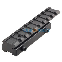 AU STOCK Dovetail Weaver Picatinny Rail Adapter 11mm To 20mm Tactical Scope Extend Mount