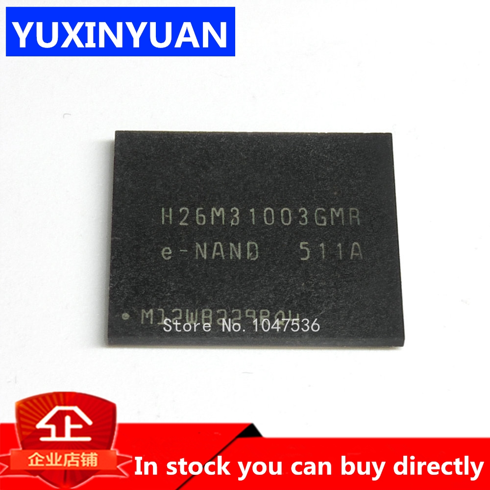 2PCS/LOT H26M31003GMR H26M31003 BGA Memory IC In Stock
