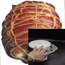 9 метров чистая самая последняя хлопковая ветчинная колбаса чистая Мясник&#39 s струна колбаса рулон Чистая горячая собака сеть колбаса упаковочные инструменты кухня T