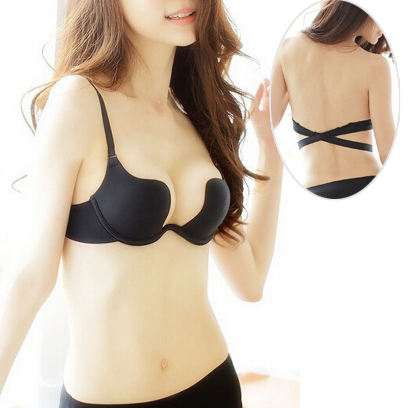 Popular U Plunge Backless Bra-Buy Cheap U Plunge Backless Bra lots ...