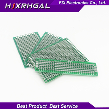 4pcs 5×7 4×6 3×7 2×8 cm double Side Copper prototype pcb KIT Universal Board for Ardui Free Shipping
