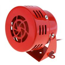 DWCX Universal DC 12V Red 3 Driven Air Raid Siren Horn Speaker Alarm 50's fit for Automotive Car Truck Motorcycle Yacht Boat free shipping high quality wired automotive air raid siren horn car truck motor driven alarm red siren alarm 110db