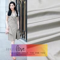 100% silk yarn - dyed taffeta cloth clothing dress skirts under the skirt wedding dress fabric silver - gray