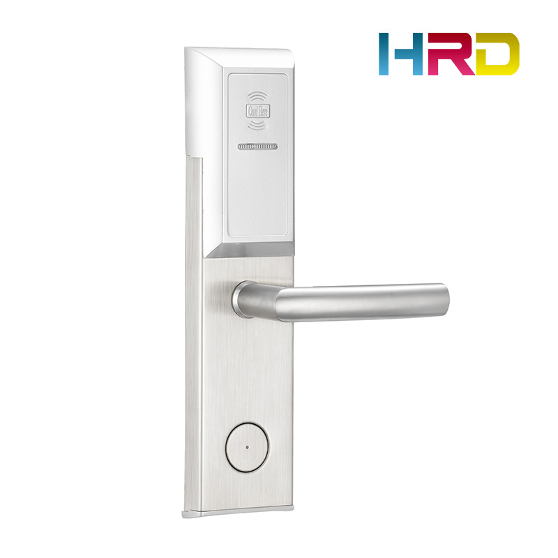 rfid anti-theft hotel lock system hotel safe lock electronic hotel keyless door lock electronic hotel lock rfid intelligent lock system aa batteries powered