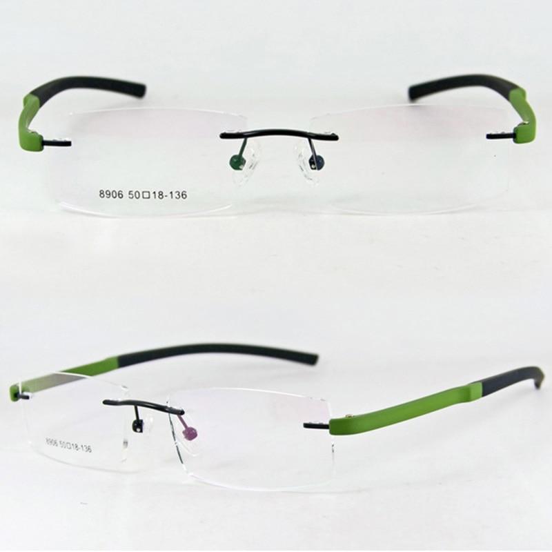 Colorful Frameless Top Quality Optical <font><b>Frames</b></font> Black <font><b>Blue</b></font> <font><b>Red</b></font> Elegant Myopia Spectacle Rimless <font><b>Glasses</b></font>