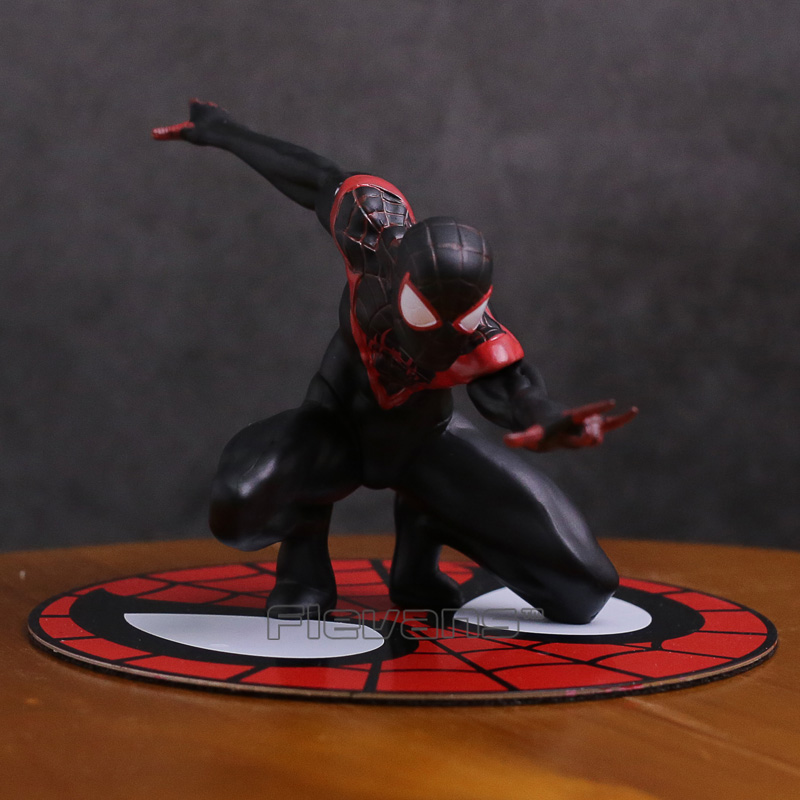 Artfx Statue Spider Man Miles Morales 1/10 Scale Pre-painted Figure Collectible Model Toy 10cm Quality And Quantity Assured Toys & Hobbies