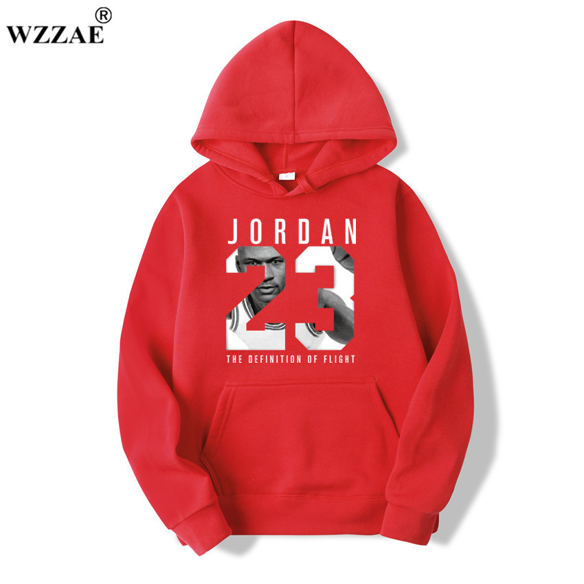 WZZAE 2019 Brand  New Fashion JORDA 23 Men Sportswear Print Men Hoodies Pullover Hip Hop Mens tracksuit Sweatshirts Clothing 1
