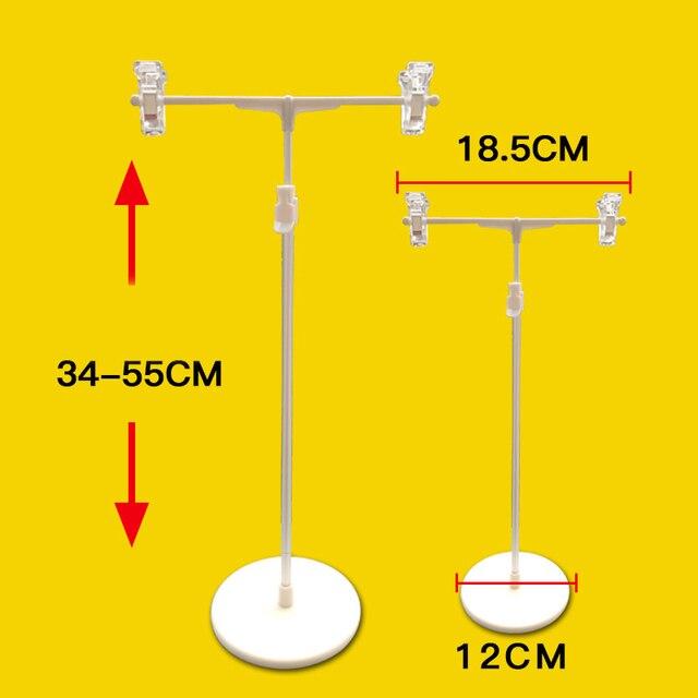 T Poster Clip Rack Round Base Promotion Advertising Ads Pop Banner Display Rack Table Shelf Stand Price Talker Label Tag Holder