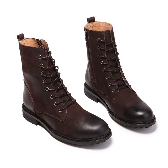 Aliexpress.com : Buy Hot Selling High Top Men Boots Retro Combat ...