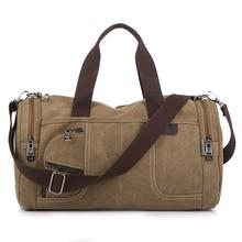 Mann leinwand Messenger Bags duffle reise umhängetasche Qualität Neue Tote bolsa feminina Reißverschluss Reise freizeit handtasche