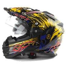 Nuovo arrivo grigio occhi THH tx27 caschi da moto mtb downhill cascos motociclo con doppia visiera off road motocross casco DOT