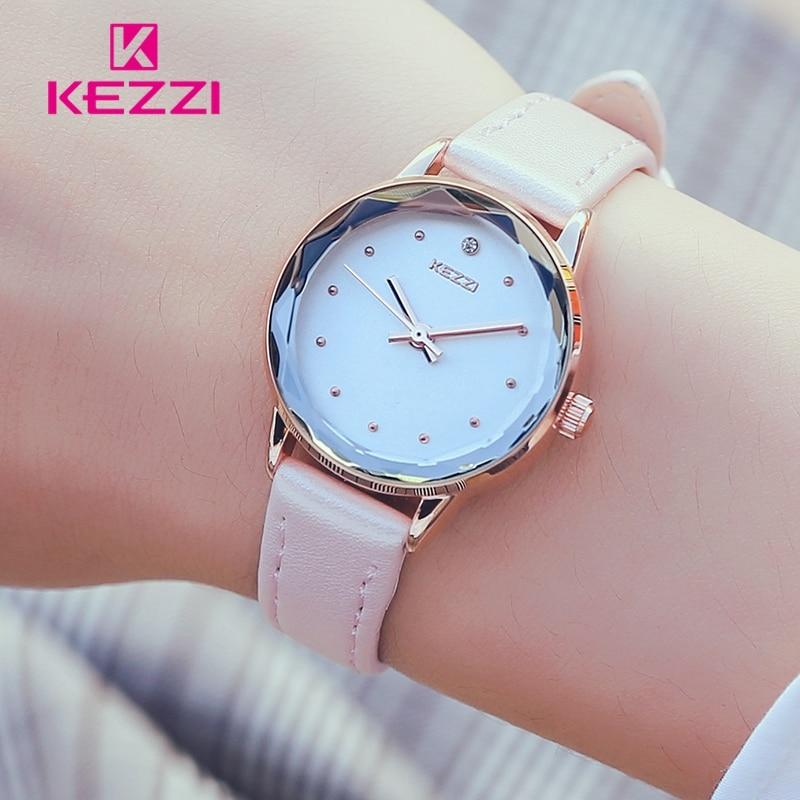 KEZZI montre femme Mały zegarek Moda Diamentowy zegar kobiet zegarki - Zegarki damskie - Zdjęcie 1