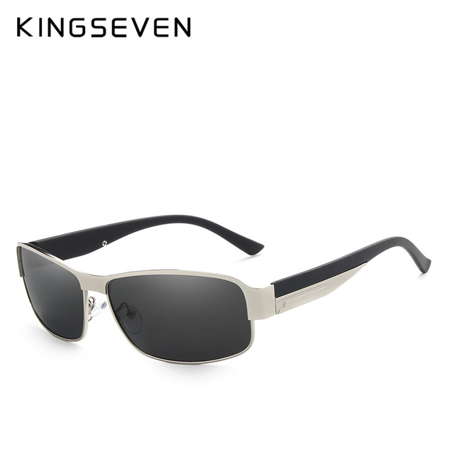 KINGSEVEN BRAND DESIGN Men Sunglasses Polarized Sun Glasses Mirror Lens Classic Vintage Male Shades Oculos de sol UV400 N7359