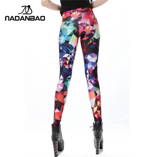NADANBAO Women leggings Geometric Boho Art Printed leggins Girl legins Sexy Slim Women Pants