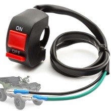 1PC On Off Cut Out Kill Headlight Switch Rocker Style Stop Ignition 2 Wires For Mini Moto Quad Pit Dirt Race Bike ATV