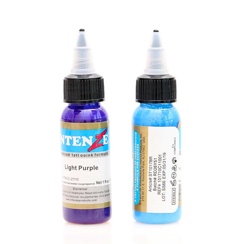 14 color permanent tattoo pigment tattoo ink embroidery machine 30ml beauty tools in Tattoo Inks from Beauty Health