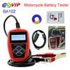 Wholesales QUICKLYNKS BA102 Motorcycle Battery Tester LCD Display 12V Battery Life Analysis Free Shipping