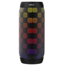 AEC BQ 615 Altavoz Bluetooth colorido de luz LED Luces Intermitentes de Radio FM Mini Altavoz Portátil Inalámbrico Super Bass
