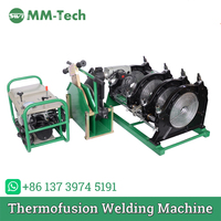 SWT B355/90H Butt fusion welding machine for hdpe pipe from 90 355mm