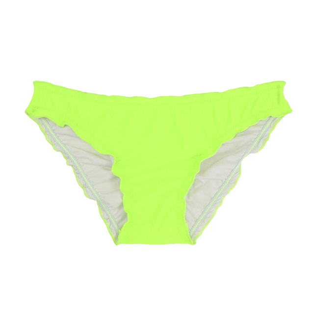 Women Swim Briefs Beach Low Waist Chiffons Ruching 2017 Summer Bikini Bottom Wraps Sexy Micro Swimwear Female Sporty Shorts B609