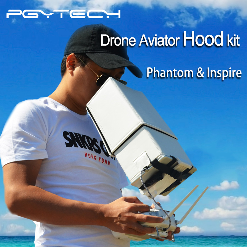 PGY 5.5 inch remote control RC sun Hood shade DJI phantom 2 3 4 inspire1 Drone Aviator Hood kit Accessories fpv Quadcopter parts