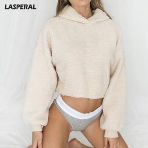 LASPERAL Long Sleeve Female Pullovers Warm 2018 Sweater