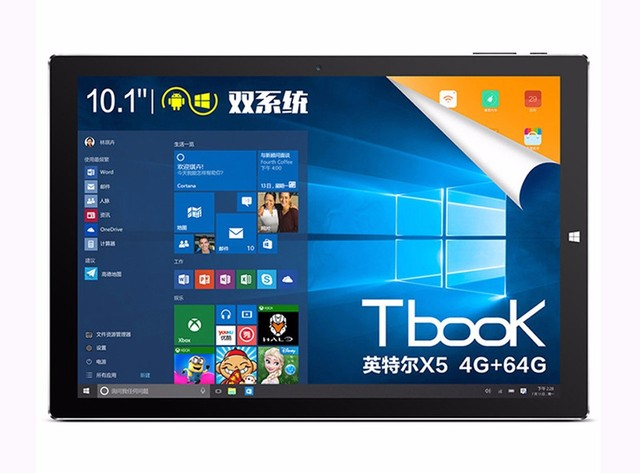 10.1Inch 1920x1200 Teclast Tbook10s Tbook 10s Dual OS Win10 Android 5.1 Tablet PC Intel Cherry Trail Atom X5 Z8350 4GB 64GB HDMI