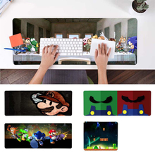 Top Quality mario Computer Gaming Mousemats Durable Rubber Mouse Mat Pad