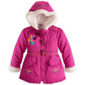 Children's clothing  Girl's jacket  Girl winter coat  Down & Parkas for girls Windproof  padded Outerwear & Coats CC068