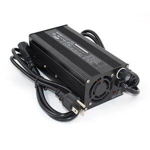 Image 2 - Chargeur 54.6V 6A chargeur de batterie Li ion 54.6V pour batterie 10S 48V Lipo/LiMn2O4/LiCoO2 charge rapide entièrement automatique