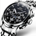 KINYUED20mechanical men's watches, high quality precision waterproof wrist watch brand, automatic calendar leisure fashion watch