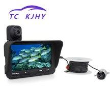 4,3 дюймов 20 метров двойной объектив детектор рыбы высокой четкости ночного видения морской Gps подводная видеокамера рыболовное устройство