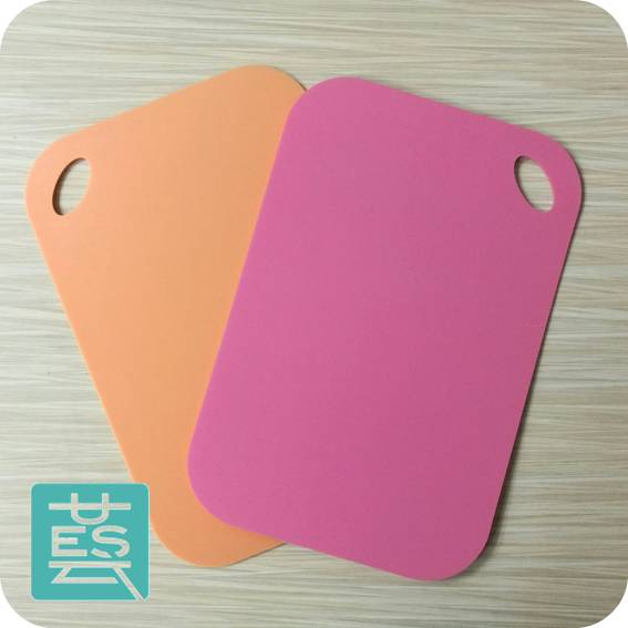 Aliexpress Double Sides Uesta Solid Color Eco Friendly 1 Pc Mat Cooking Tool 36 By 24 Cm Kitchen Plastic Chopping Block Cutting Board Meat From