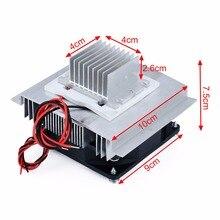 Peltier enfriador termoeléctrico DC 12V, sistema de refrigeración Semiconductor, aire acondicionado, Kit DIY, 1 ud.
