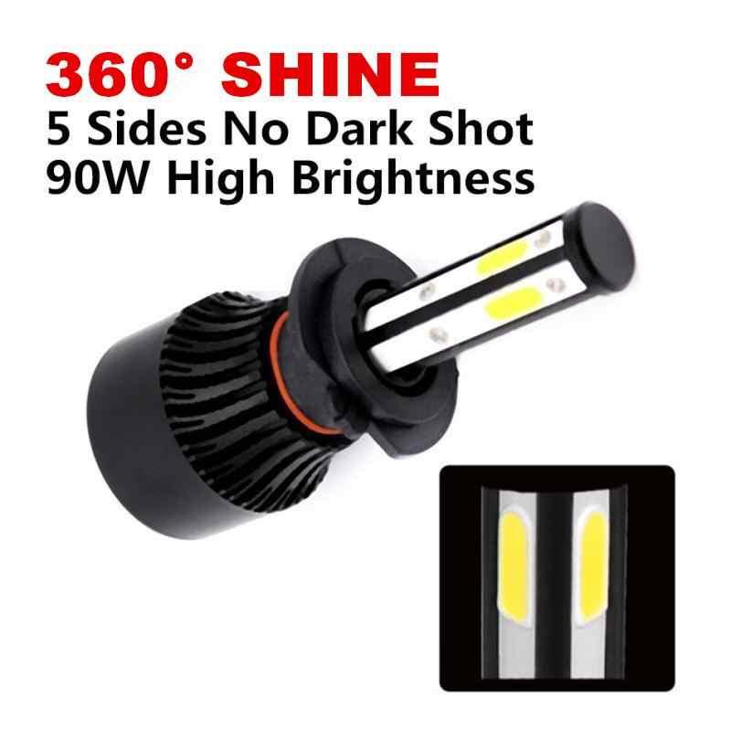 Inlong 5 Sides 18000LM H7 Car LED Headlight No Error H11 Led Canbus Headlmp Bulb H4 H8 H9 9005 9006 100W Auto Fog Lights 12V 24V