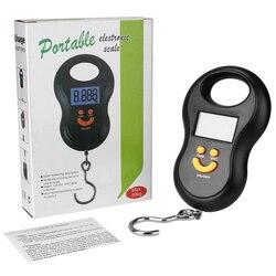 Цифровые Мини-весы, высокоточный Электрический карманный безмен с подсветкой, для рыбалки, багажа, подвесной кухонный прибор с крючком