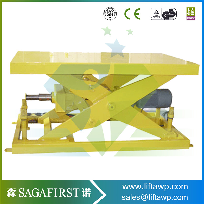 Warehouse Equipments For Sissors Lift Table