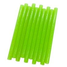 Glue-Sticks Colourful Craft Glitter Hot-Melt 7mm 10pcs Green for Phone-Case Album Repair-Accessories