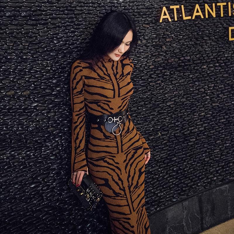 Robe Femmes Réel Spandex Viscose Lanon Robe De Festa Zanzea 2018 Nouvelle Mode Tempérament Hanche Robe Longue En Tricot Femelle Sexy
