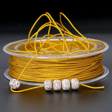 Alta qualidade 12 m diâmetro 1.5mm 12 cores para escolher importação eua para diy acessórios artesanais