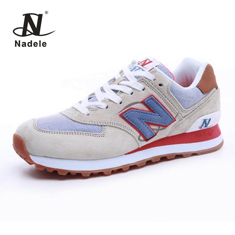 Nadele athletic running shoes zapatillas de deporte de las mujeres respirables a