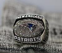 Patriots Logo Engraved Inside FOR Tom Brady 2007 New England Patriots NFC FOOTBALL Championship Ring 7
