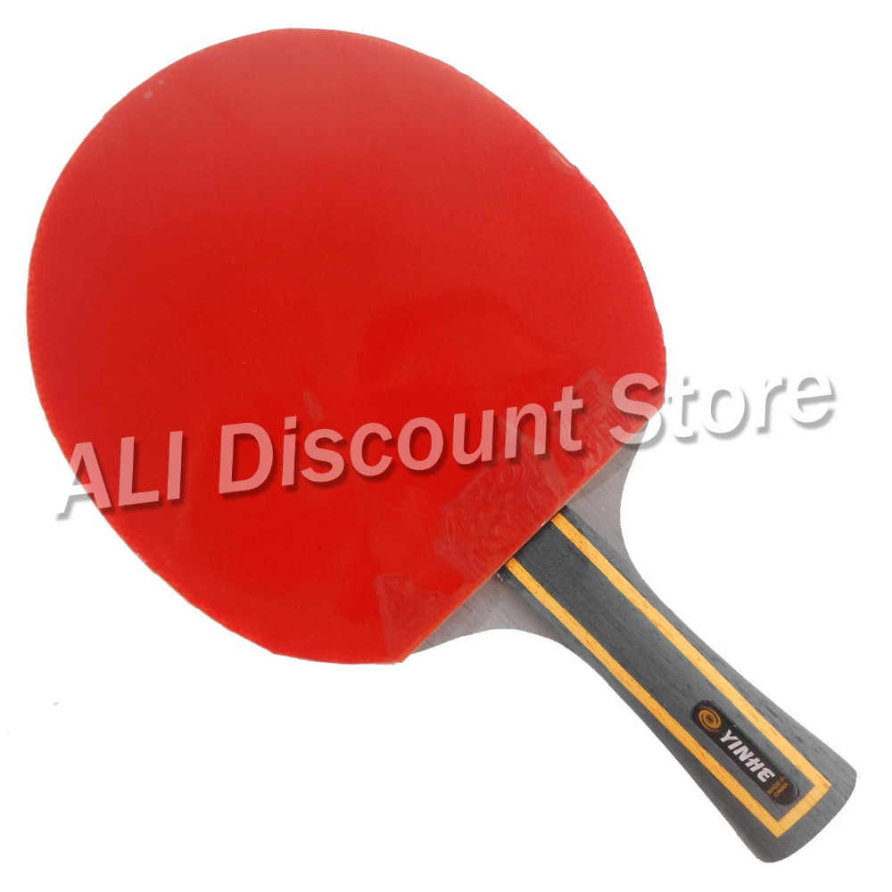 Galaxy YINHE Mercury.13 Blade with 2x Mercury II Rubbers for a Table Tennis Combo Racket FL