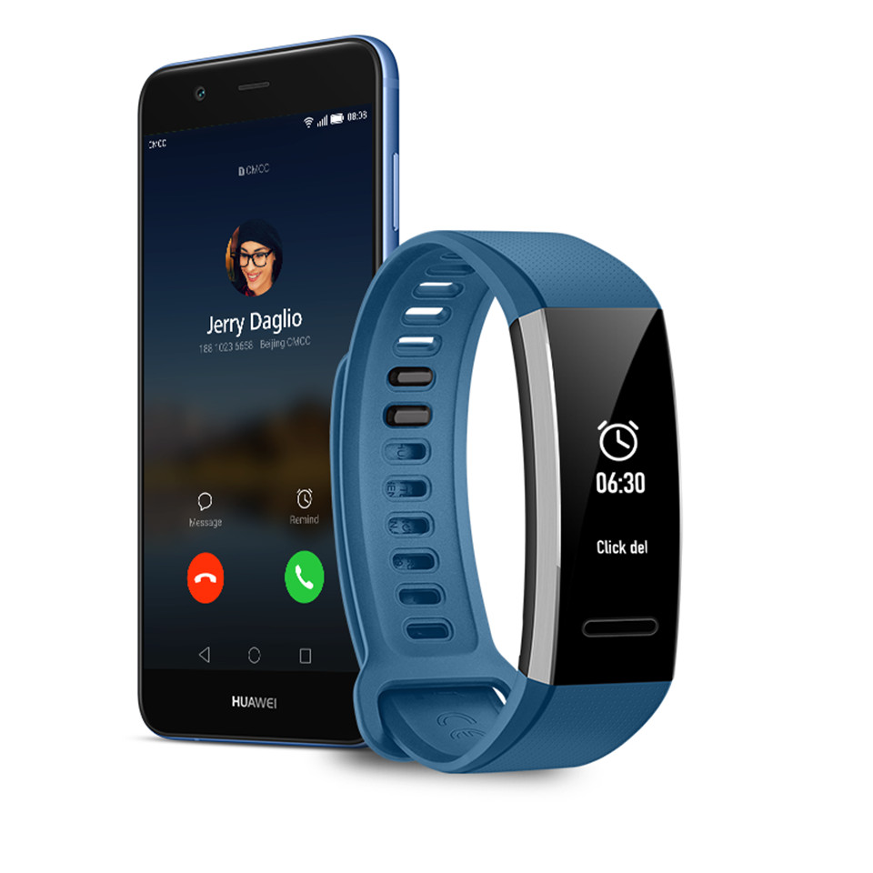 US $25 99 |Original Huawei Band 2 pro B29 B19 Wristband for Monitor Fitness  50m Swim Waterproof Bluetooth OLED band-in Smart Wristbands from Consumer