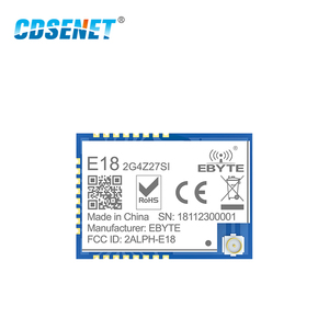 Image 2 - Zigbee Mesh Netzwerk CC2530 27dBm PA CC2592 E18 2G4Z27SI SMD IPEX Stecker IO Port 500mW Long Range Transmitter Empfänger