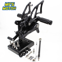 CNC Adjustable Rearset For Yamaha YZF R25/R3 2014-2017  MT-25 2015-2017 Foot Rest Foot Pegs Foot Rests цены