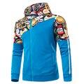 Hoodies Thick sweatshirt Men Casaco Masculino Brand New Fashion Winter Jacket Men Sweatshirt Parka Jacket Coral Fleece Lining