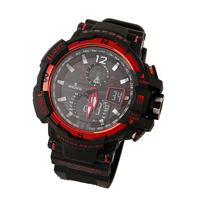 Fashion Watch Men G Style Waterproof LED Sports Military ...