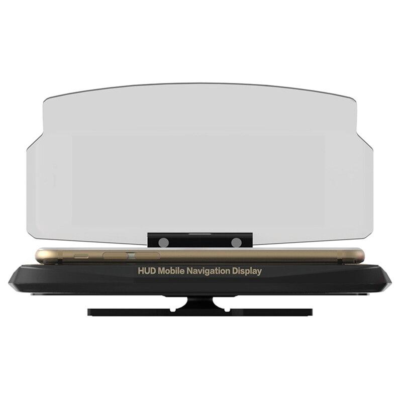 New Auto font b GPS b font phone Stand Projector HUD Head Up Display Holder font