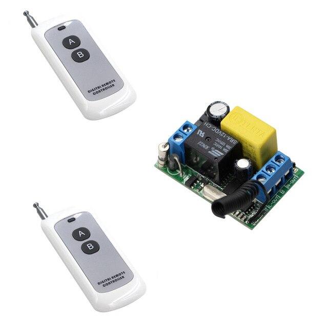 New Type Input Output 220V RF Wireless Remote Control Light Switch ...